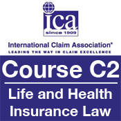 ICA Course C2: Life and Health Insurance Law
