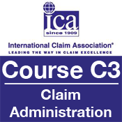 ICA Course C3: Claim Administration